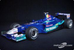 La nouvelle Sauber Petronas C21 de la saison 2002