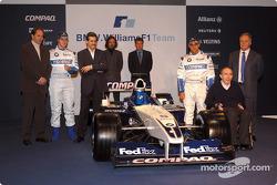 Gerhard Berger, Ralf Schumacher, Dr. Mario Theissen, Gavin Fisher, Sam Michael, Juan Pablo Montoya,