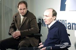 Gerhard Berger y Frank Williams