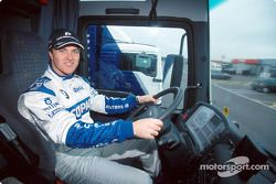 Ralf Schumacher conduciendo el camión BMW WilliamsF1