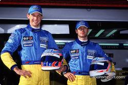 Jenson Button y Jarno Trulli