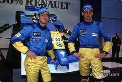 Jarno Trulli et Jenson Button