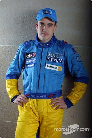 El piloto de pruebas Fernando Alonso
