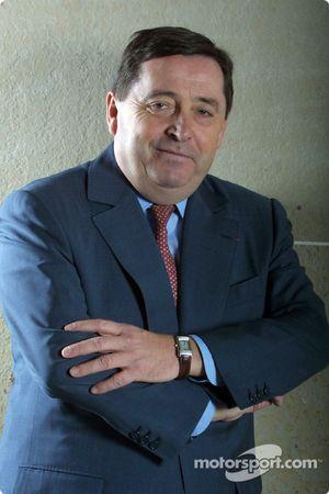 Patrick Faure, PDG de Renault F1