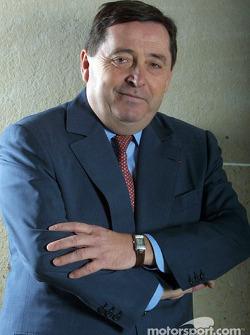 El presidente ejecutivo de Renault F1 Patrick Faure