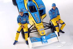 Jarno Trulli y Jenson Button