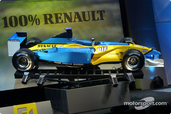 El nuevo Mild Seven Renault F1 R202 2002
