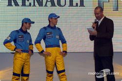 Jarno Trulli and Jenson Button