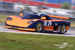 The #24 Perspective Racing Mosler won the GT class pole position