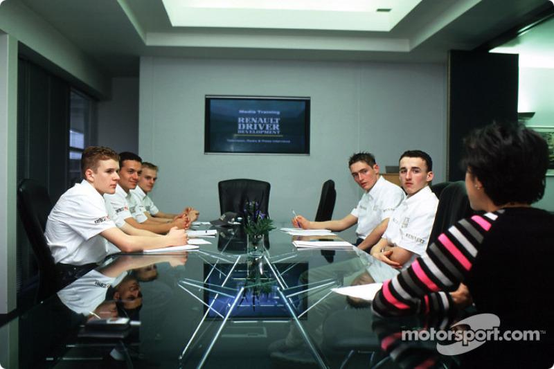 Media training session