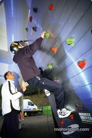 Climbing simulator