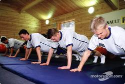 Les jeunes pilotes au sport