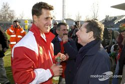 Michael Schumacher et Jean Todt