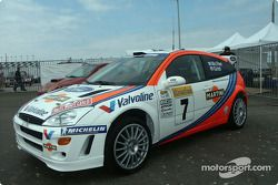 Ford Technology Tour : voiture WRC