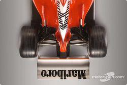 Ferrari F2002: ecco il retrotreno molto rastremato