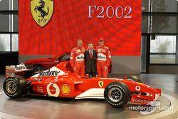 Rubens Barrichello, Jean Todt y Michael Schumacher