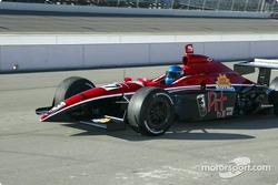 Rookie John de Vries in the #37 Brayton Racing car