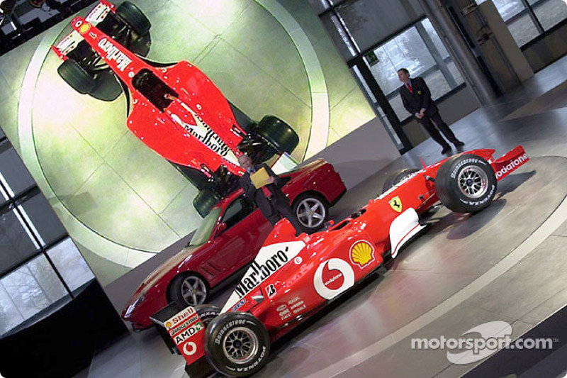 Presenting the new Ferrari F2002