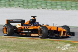 El nuevo piloto de Arrows, Heinz-Harald Frentzen
