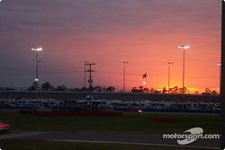 Sunset at Daytona