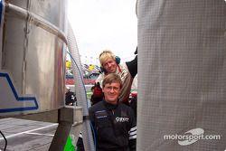 Chris Oldham avec sa Riley & Scott et Jeff Oldham avec sa Viper