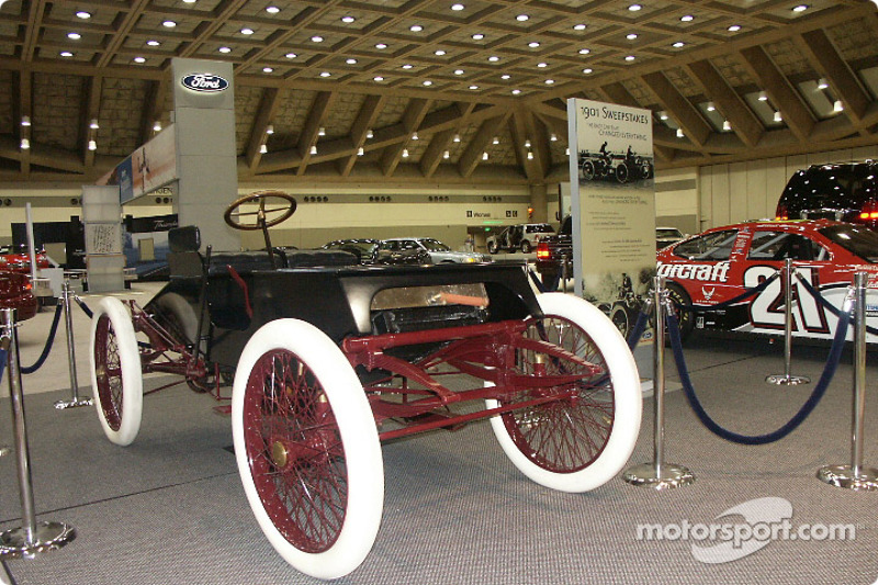 Sweepstakes Car Driven By Henry Ford At Baltimore Auto Show - Henry ford car show