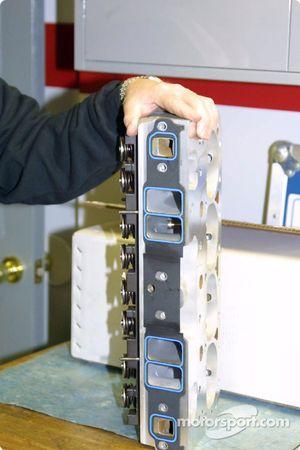 Tête de cylindre en aluminium