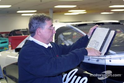 Visit to the IROC factory