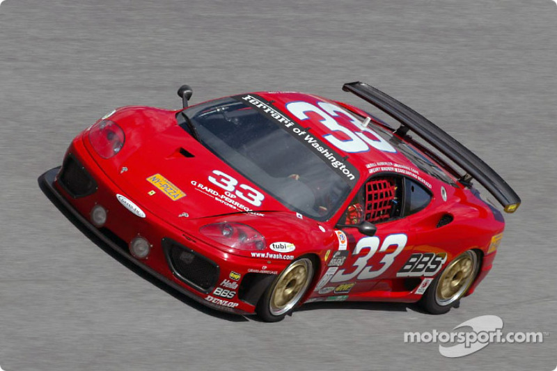 Scuderia Ferrari of Washington Ferrari 360 GT