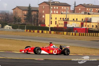 Pruebas de Ferrari, febrero