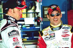 Jimmie Johnson y Jeff Gordon