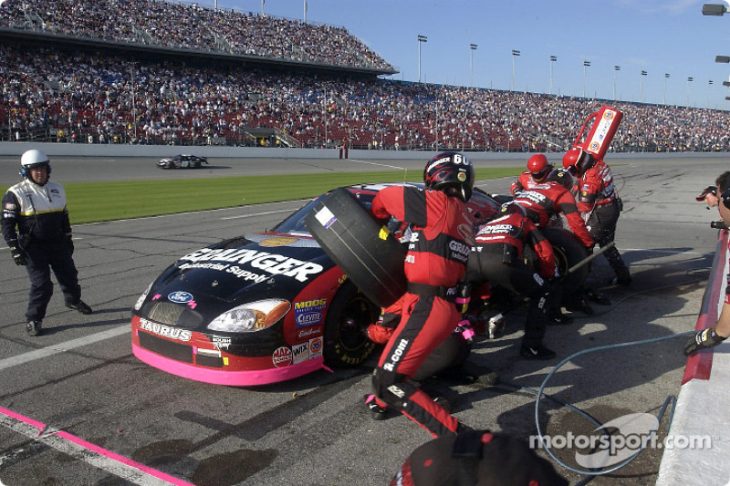 Greg Biffle aux stands