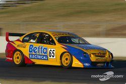 Max Wilson, nouveau pilote de V8 Supercar, teste la Ford Falcon
