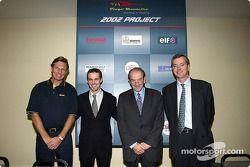 Presentation of the Renault Junior Team Super Nova team with Tiago Monteiro and Christian Contzen