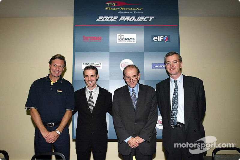 Presentation of the Renault Junior Team Super Nova team with Tiago Monteiro and Christian Contzen