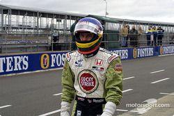 Jacques Villeneuve, not too happy