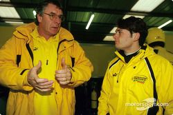 Gary Anderson y Giancarlo Fisichella