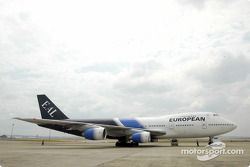 A European Aviation jetliner