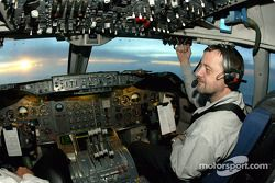 Your pilot for this flight: Paul Stoddart