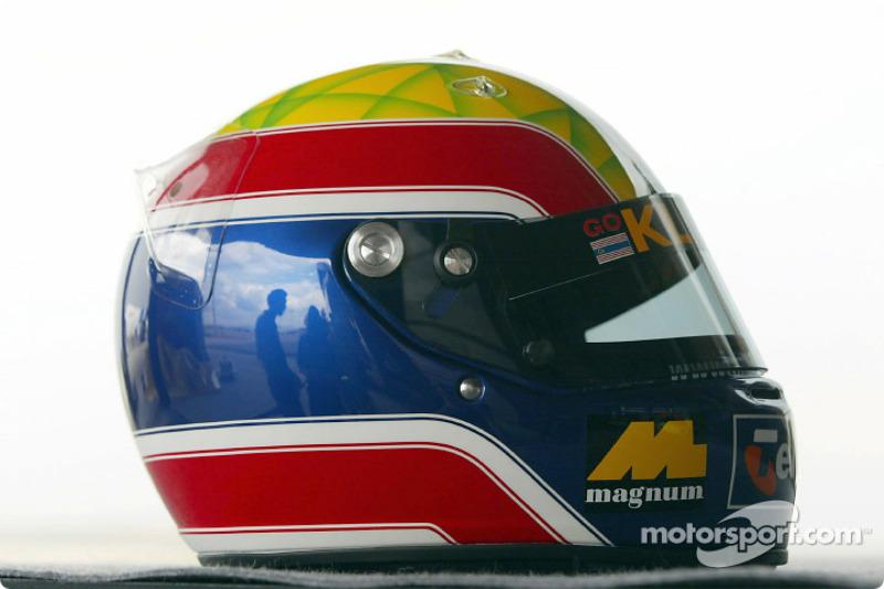 Mark Webber's helmet