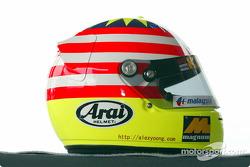 Alex Yoong's helmet