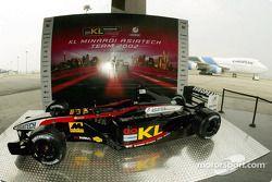El nuevo Minardi Asiatech PS02