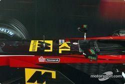 El nuevo Minardi Asiatech PS02: detalles del chasis