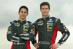 Alex Yoong y Mark Webber