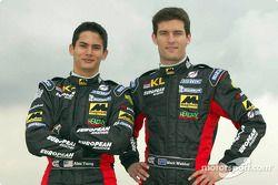 Alex Yoong and Mark Webber