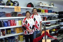 Robinson Speed Shop: les propriétaires du Robinson Speed Shop, Becky et Ronnie Robinson
