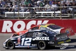 Ryan Newman y Ricky Craven