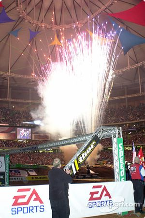 Opening ceremony fireworks