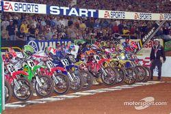Start of the 250cc moto