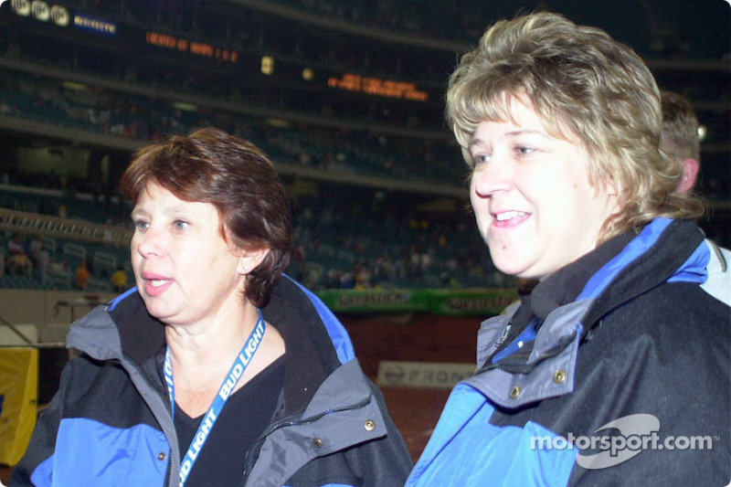 McGrath's mom and sister